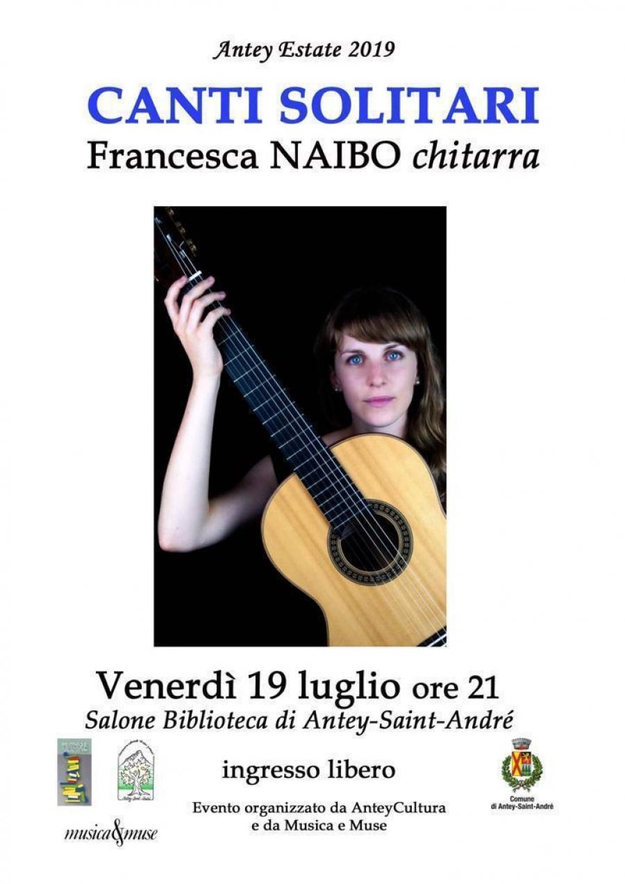 2019 SOLITARY SONGS mit Francesca NAIBO Gitarre