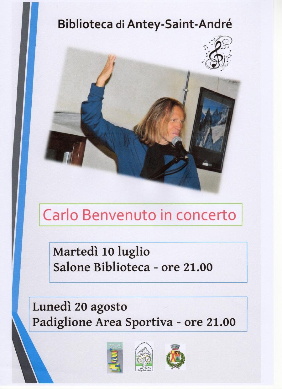2018/08/20 Carlo Benvenuto in concerto