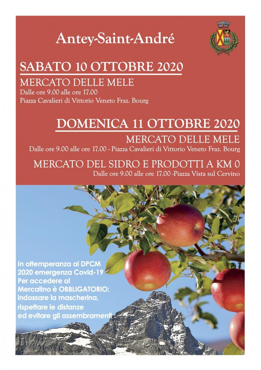 2020/10 / 10-11 MARCHÉ DES PRODUITS POMME, CIDRE ET KM 0
