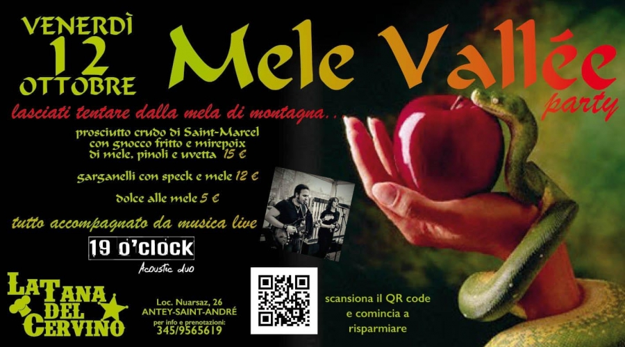 2018/10/12 APPLES VALLEE PARTY