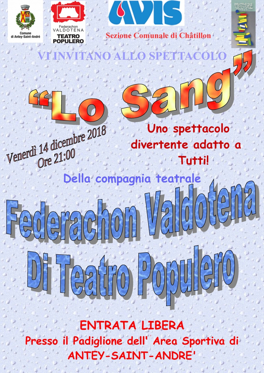 """2018/12/14 THEATER IN PATOIS """"LO SANG"""""""