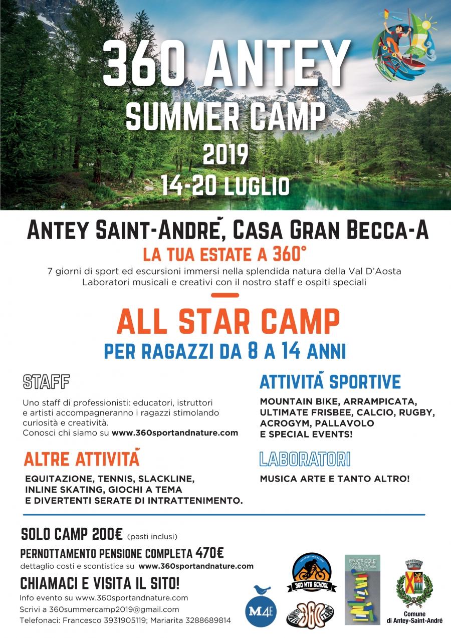 2019/07 / 14-20 360 ANTEY SUMMER CAMP 2019