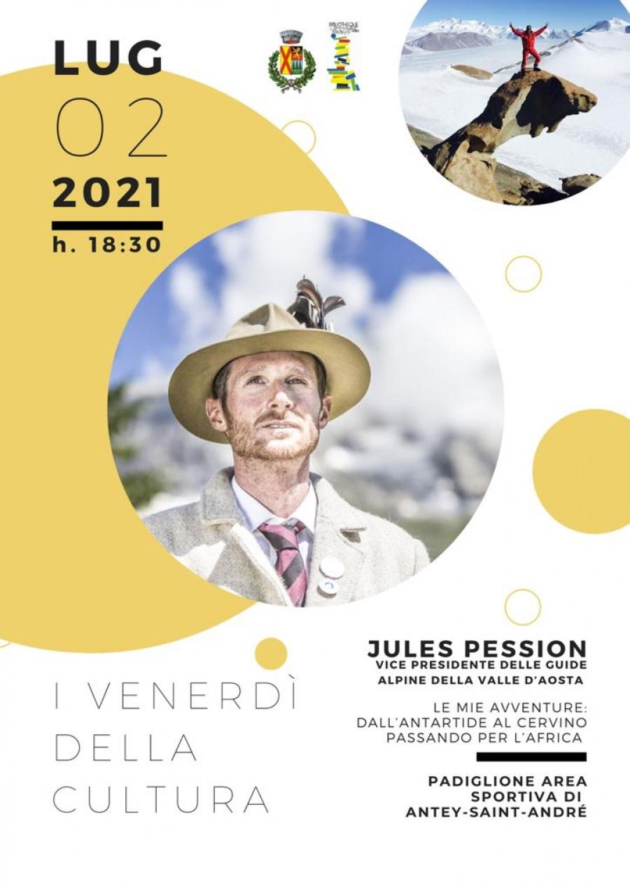 2021/07/02 FREITAG DER KULTUR: JULES PESSION