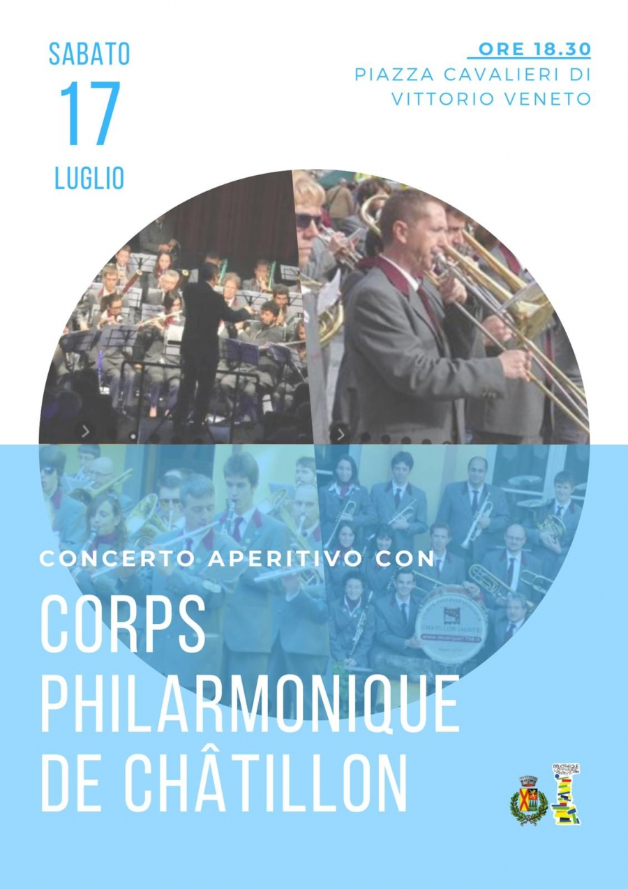 2021/07/17 APERITIF C0NCERTO MIT CORPS PHILARMONIQUE DE CHATILLON