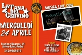 2019/04/24 MUSICA LIVE ALLA TANA
