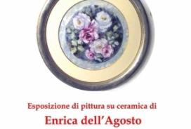 2018/08/06 Esposizione ceramiche di  Enrica Dell'Agosto