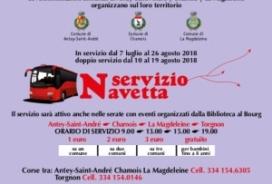 2018/07/07 SERVIZIO NAVETTA ESTATE 2018