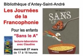 2019/03/27 LES JOURNEES DE LA FRANCOPHONIE