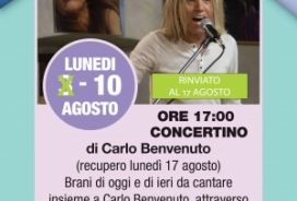 2020/08/03 CONCERTINO DI CARLO WELCOME