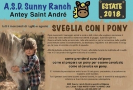 2018/07/01 SVEGLIA CON I PONY ESTATE 2018