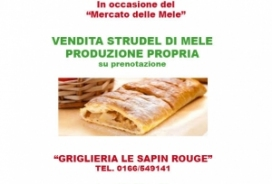 2020/10 / 10-11 SALE OF APPLE STRUDEL - OWN PRODUCTION