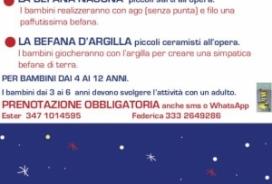 2020/01/04 ART WORKSHOPS FOR CHILDREN - LA BEFANA