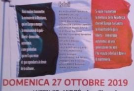 2019/10/27 COMMEMORAZIONE DEI CADUTI A CHESOD