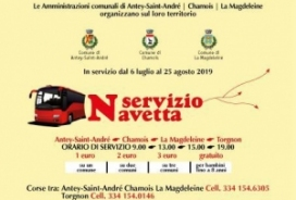 2019/08/25 SERVIZIO NAVETTA