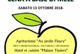 2018/10/13 CENA A BASE DI MELE