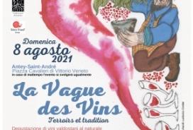 2021/08/08 LA VAGUE DES VINS - DEGUSTAZIONE DI VINI VALDOSTANI
